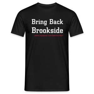 Brookside black - Men's T-Shirt