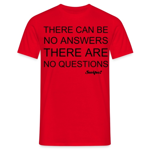 'Everyone Knows' Red - Men's T-Shirt
