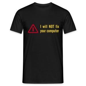 no fx - Männer T-Shirt