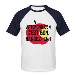 AfterEnd Apple - T-shirt baseball manches courtes Homme