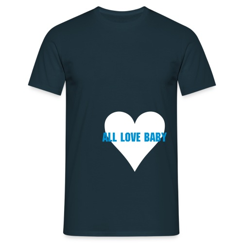 all love - Herre-T-shirt