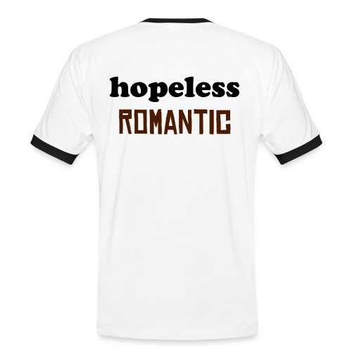 hopeless romantic - Mannen contrastshirt
