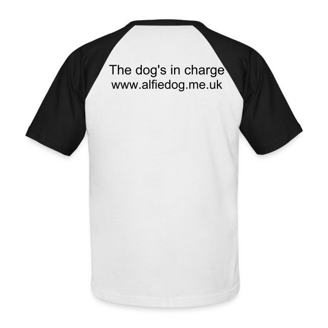 The dog's in charge