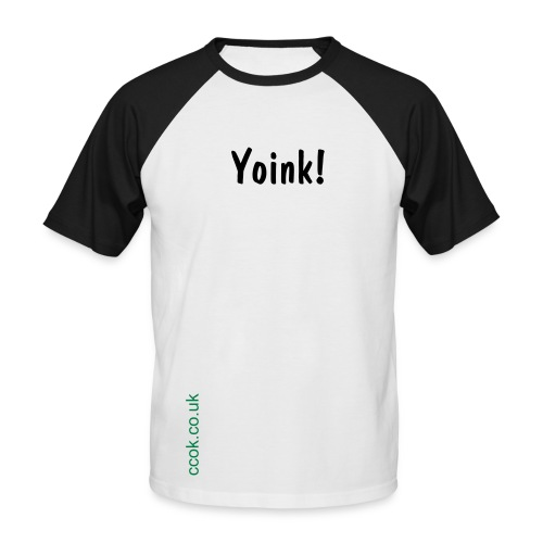 Yoink! - Men's Baseball T-Shirt