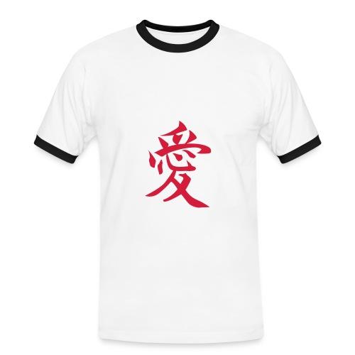 T-Shirt Jap - T-shirt contrasté Homme