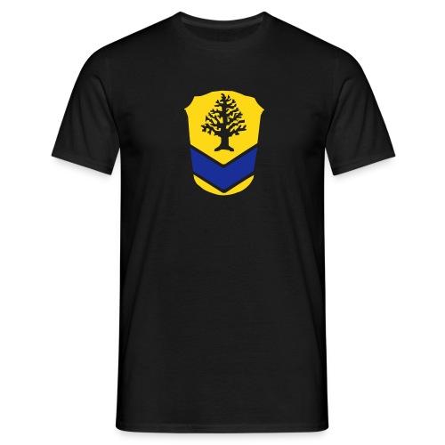 Tshirt schwarz, grosses Wappen - Männer T-Shirt