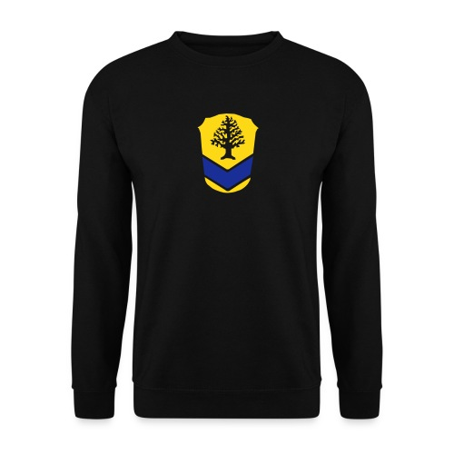 Sweatshirt, grosses Wappen - Männer Pullover