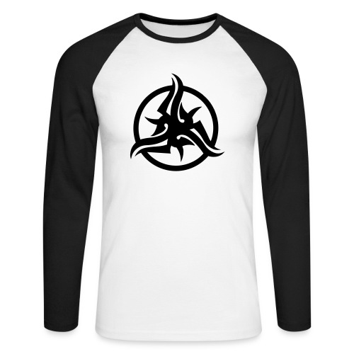 t-shirt triskel - T-shirt baseball manches longues Homme