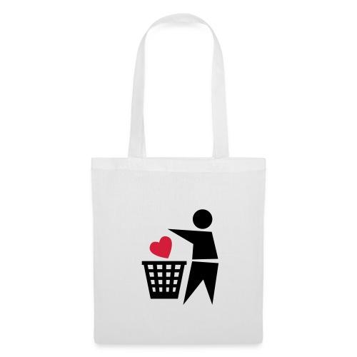 love is rubbish tote - Tote Bag