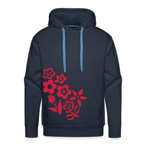 Flowery hoodie - Men's Premium Hoodie
