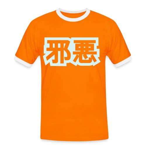 Evil Money - Kontrast-T-skjorte for menn