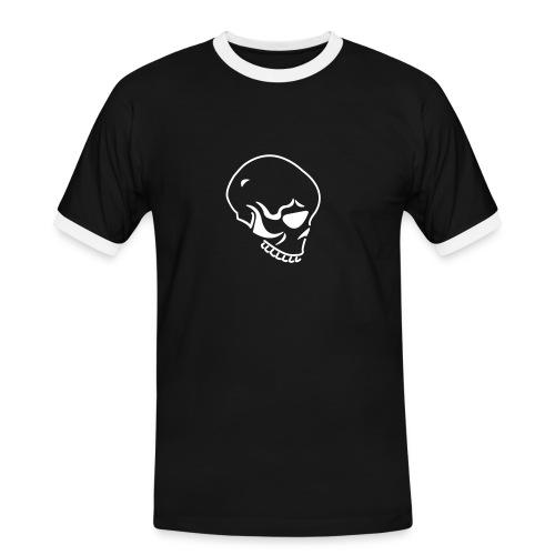 Schädel - Männer Kontrast-T-Shirt