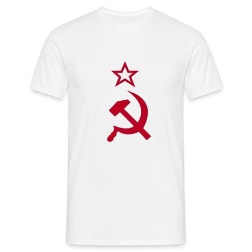 Hammer und Sichel - Männer T-Shirt