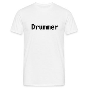Drummer (white) - Men's T-Shirt