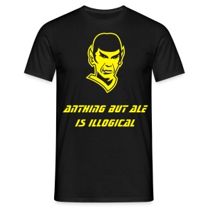 Spock Loves Ale - Men's T-Shirt