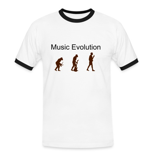 Music Evolution - Men's Ringer Shirt