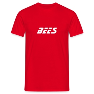 BEES TEE (RED) - Men's T-Shirt