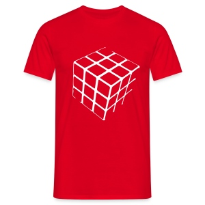 Cube Shirt - Mannen T-shirt