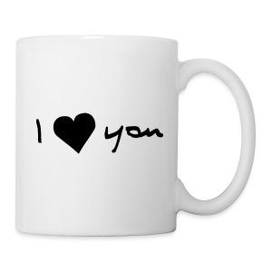 I love u - Mug