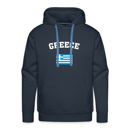 GREECE Schlumpf - Männer Premium Hoodie