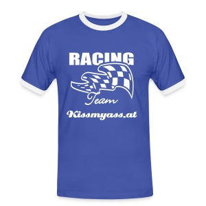 Racing Team Kissmyass.at - Männer Kontrast-T-Shirt
