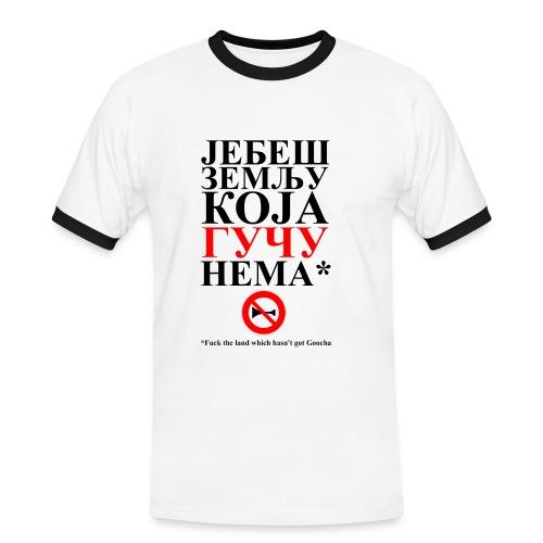 Majica Guca - Männer Kontrast-T-Shirt