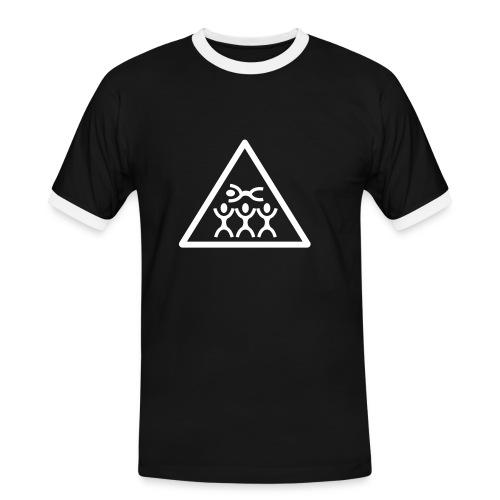 Dive the Stage - Männer Kontrast-T-Shirt