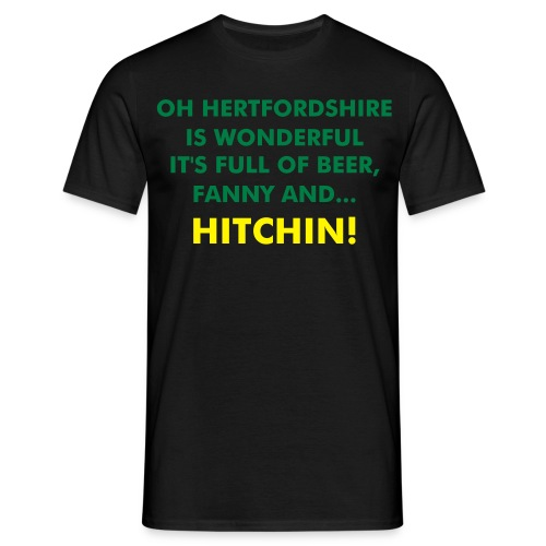 Oh Hertfordshire Is Wonderful - Comfort T-Shirt - Men's T-Shirt