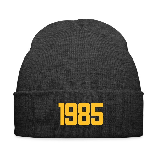 1985 black winter cap - Winter Hat