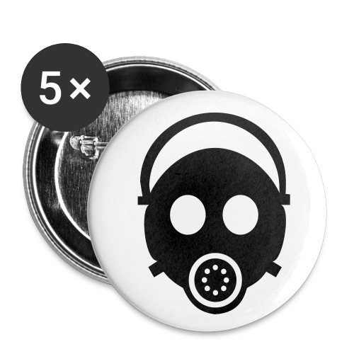 Buttons small 1''/25 mm (5-pack)