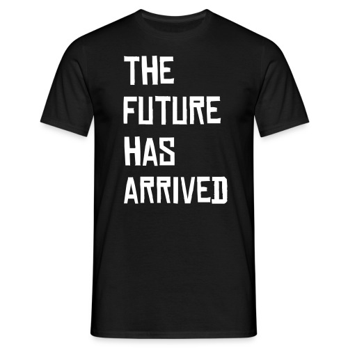 the future t-shirt blk/wht - Men's T-Shirt