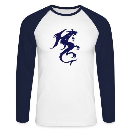 dragon - Men's Long Sleeve Baseball T-Shirt