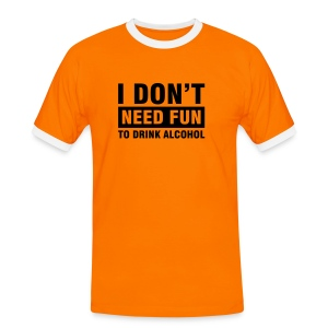 Needing Fun? - T-shirt contrasté Homme
