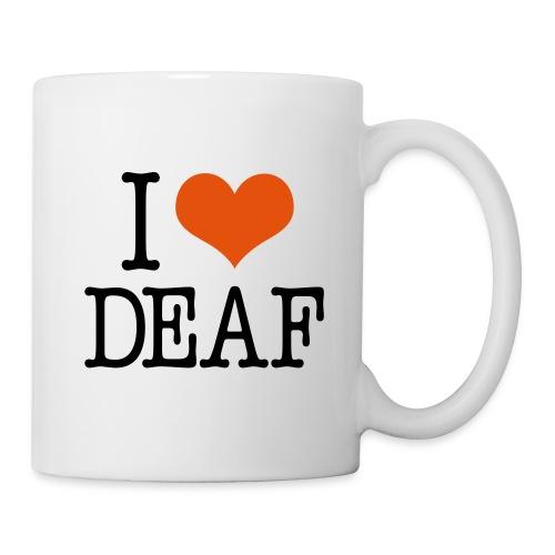 I (Herz) DEAF - Tasse