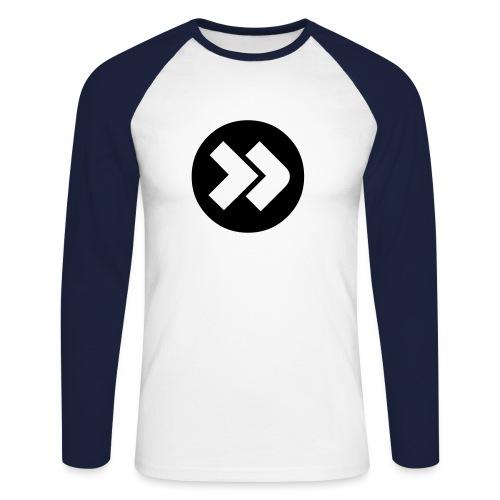 Koszulka męska długi rękaw - Koszulka męska bejsbolowa z długim rękawem