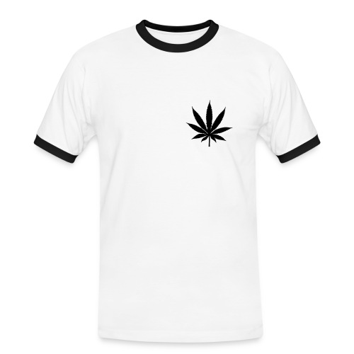 Tee-Shirt Of Weed - T-shirt contrasté Homme