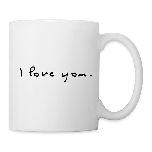 Tasse I love you - Mug blanc