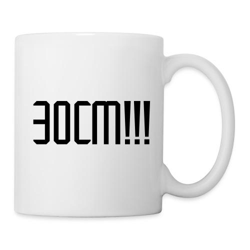 30 cm !!! - Mug blanc