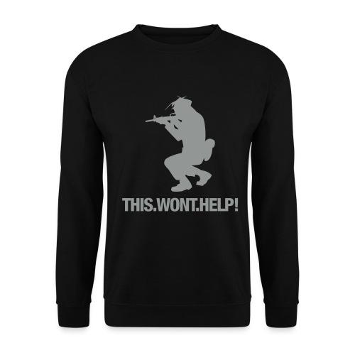 thiswonthelp - Männer Pullover
