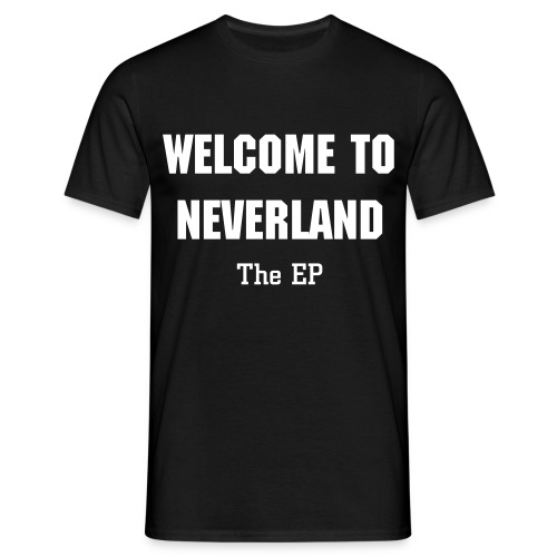 Welcome To Neverland Tee - Men's T-Shirt