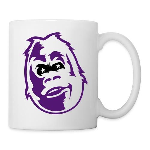 la tasse gorille - Mug blanc