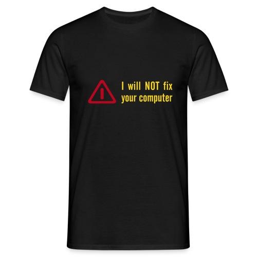 Don't Fix - Shrit - Männer T-Shirt