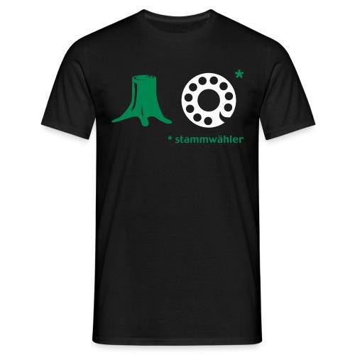 T-Shirt Stammwähler - Männer T-Shirt