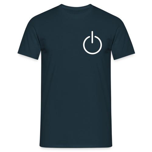 Av-På - T-skjorte for menn