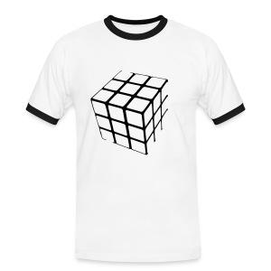 qubus - Mannen contrastshirt