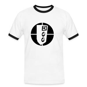 music - Mannen contrastshirt