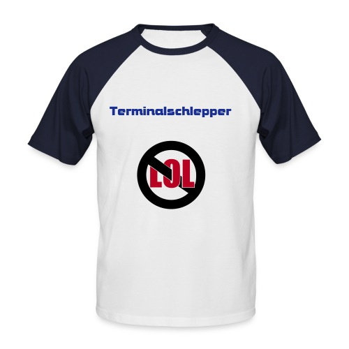 Anti Remote Worker - Männer Baseball-T-Shirt