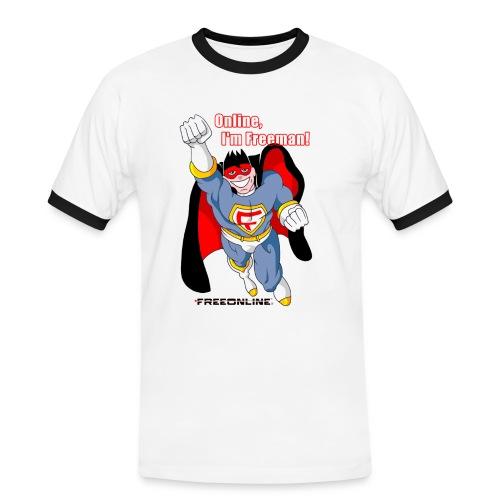 Online I'm Freeman - Maglietta Contrast da uomo