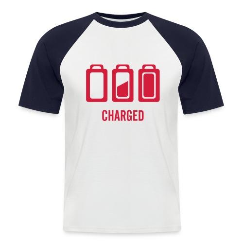 Charged - Koszulka bejsbolowa męska