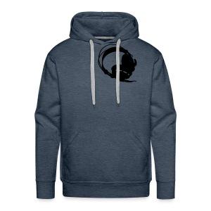 headphone - Mannen Premium hoodie